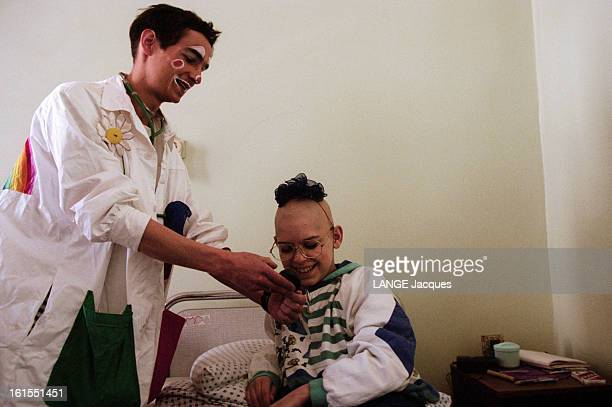 Ten Years After The Chernobyl Disaster Minsk Hospitals Cure The Child Victims Of Radioactivity The docteurs Reve Of Swiss Foundation Theodora Clowns...