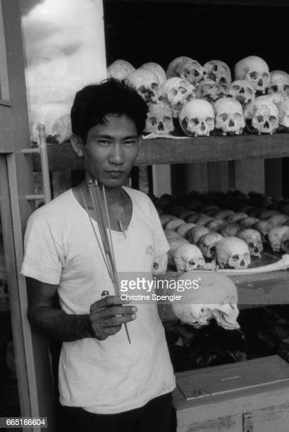Ten years after the Communist Khmer Rouge came to power under the leadership of Pol Pot Cambodia still carries devastating marks of his rule...