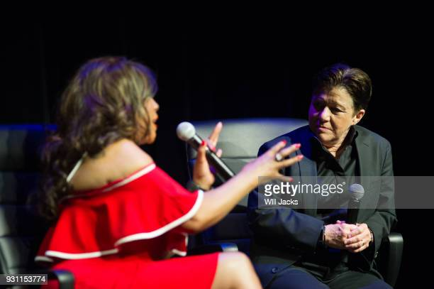 Tena Clark interviews Mary Wilson at GRAMMY Museum Mississippi on March 9 2018 in Cleveland Mississippi
