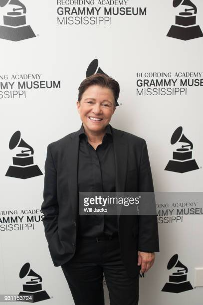 Tena Clark poses backstage at GRAMMY Museum Mississippi on March 9 2018 in Cleveland Mississippi