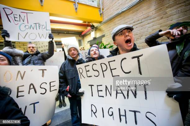 TORONTO ON MARCH 16 Tenants from Metcap buildings tried submitting a pile of repair requests to the company This is part of an organized effort by...