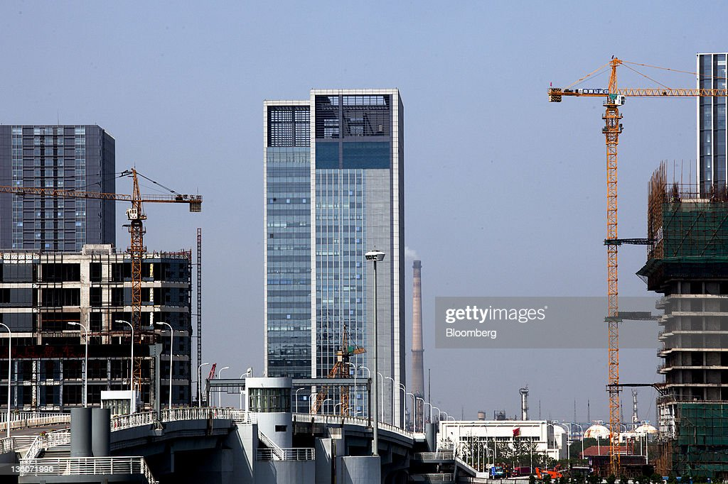 China's Manhattan Fuels Local Debt That May Dwarf Official Count : News Photo
