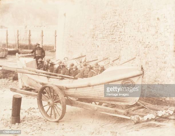 Tenby Lifeboat, 1853-56. Artist John Dillwyn Llewelyn.