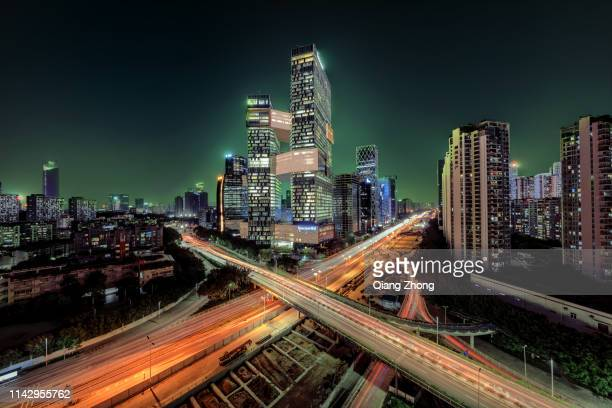 tencent building in shenzhen, china - shenzhen stock pictures, royalty-free photos & images
