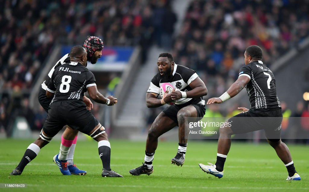 Barbarians v Fiji - Killik Cup : News Photo