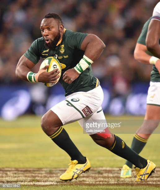 Tendai Mtawarira of the Springboks during the 2018 Castle Lager Incoming Series match between South Africa and England at Toyota Stadium on June 16...