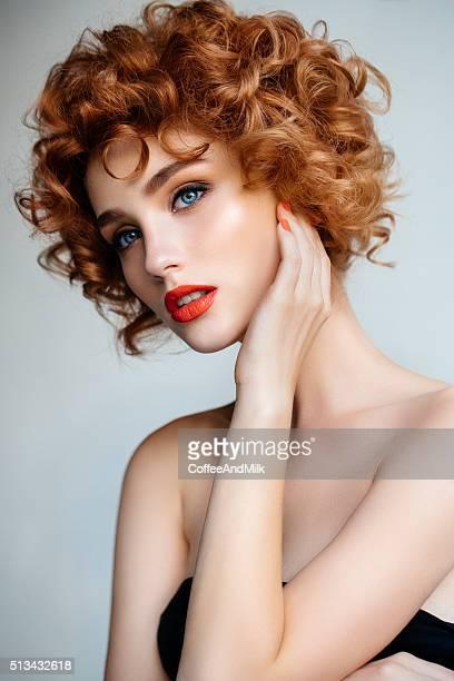 Zarte Porträt von ein Mädchen