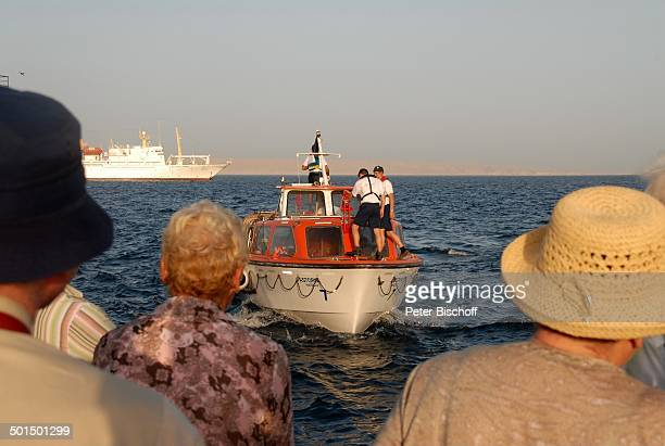 Tender vom Kreuzfahrtschiff MS Astoria und AIDA IV auf Reede Asien Schiff Wasser Meer Reise BB DIG PNr 603/2008