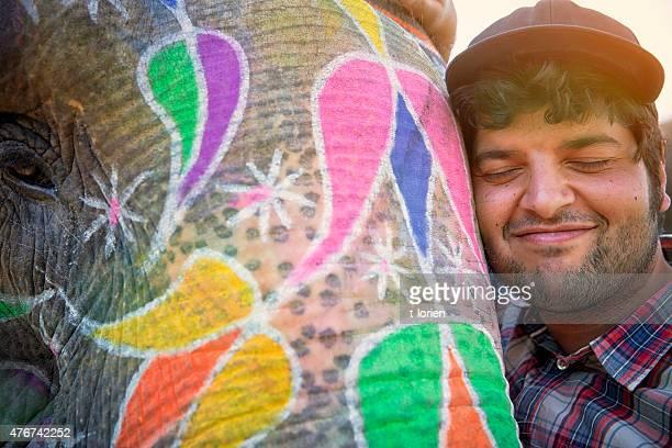 Tenderness. Elephant & Man