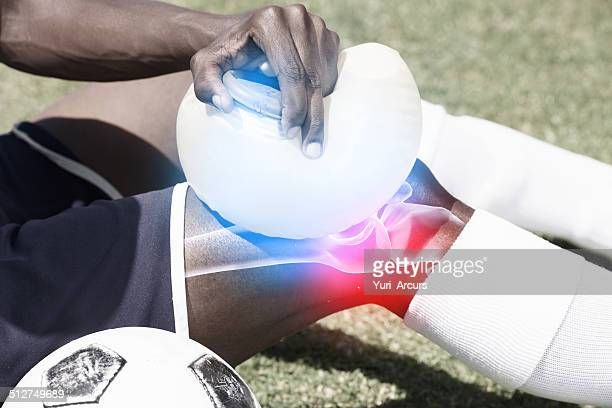 Tending an injury