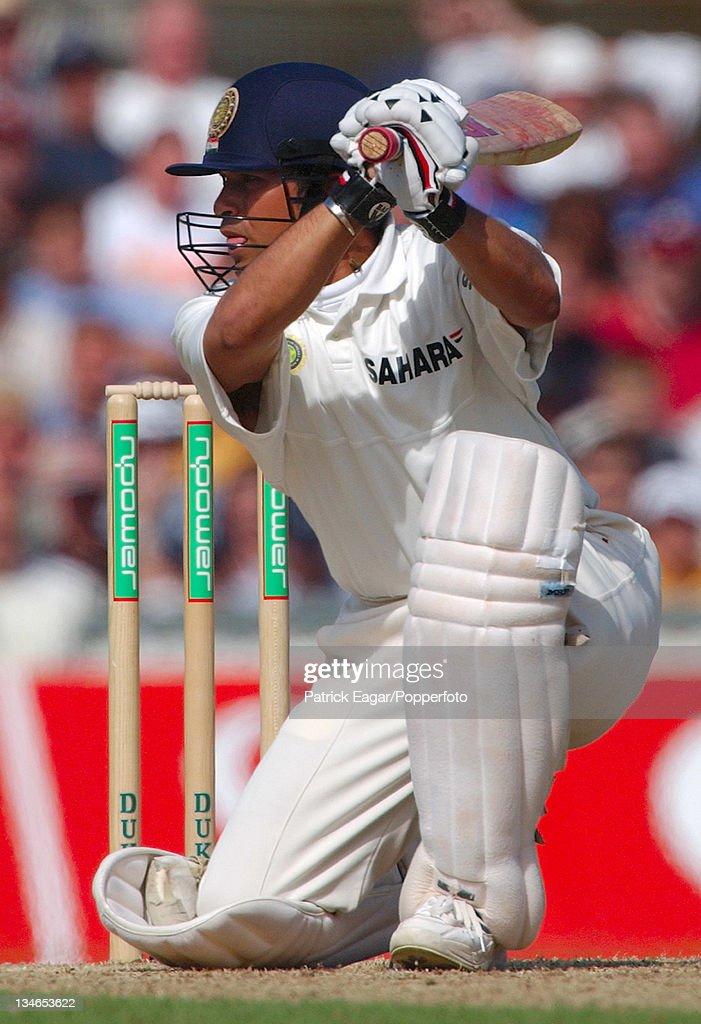 England v India , 4th Test, The Oval, Sep 02 : News Photo