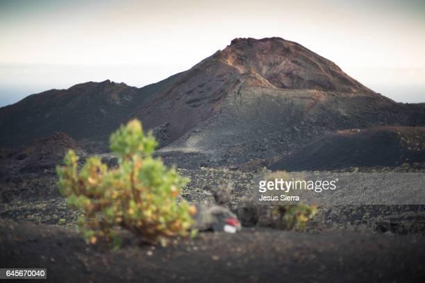 Teneguía volcano (last eruption in 1971). La Palma, Canary Islands. Spain