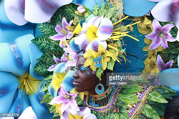Teneka Fletcher portrays Morning Glory Blooms at Junior Panorama on Sunday February 23 2014 in Port of Spain Trinidad