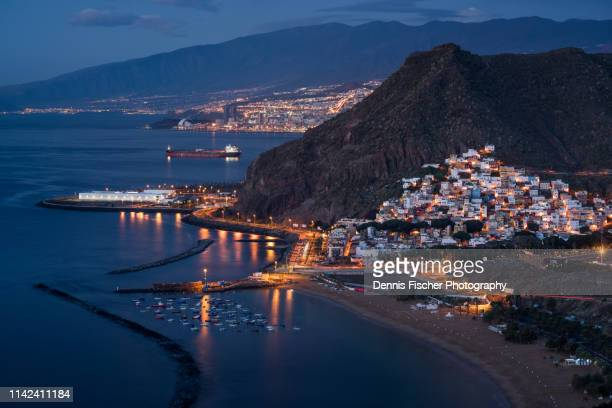 tenerife at dawn - pico de teide stock pictures, royalty-free photos & images