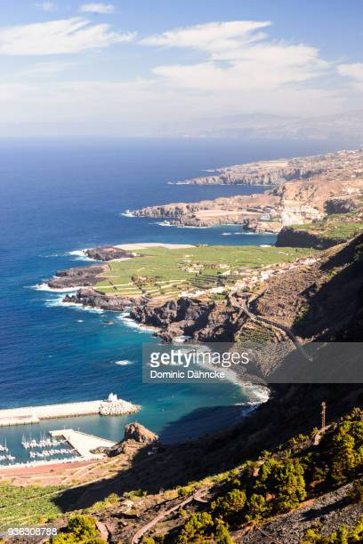 Tenerife north coast seen from 'Garachico' town (Canary Islands. Spain)