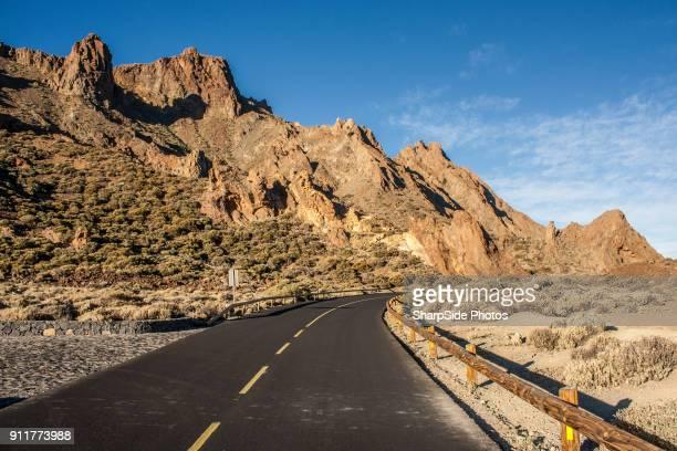 tenerife volcano teide tour - el teide national park stock pictures, royalty-free photos & images