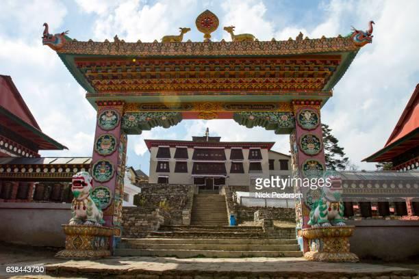 Tengboche Monastery Gate