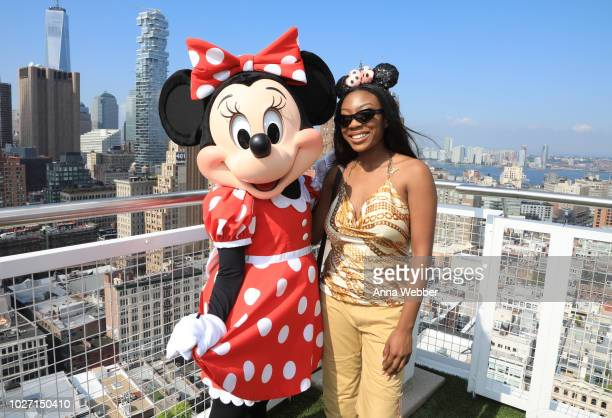 Teni Adeola of Slashed by Tia attends #MinnieStyle Minnie Mouse 90th Anniversary Celebration at Nomo Soho Hotel on September 5 2018 in New York City