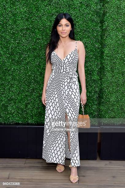 Teni Panosian attends KKWxMario Dinner at JeanGeorges Beverly Hills on March 31 2018 in Beverly Hills California