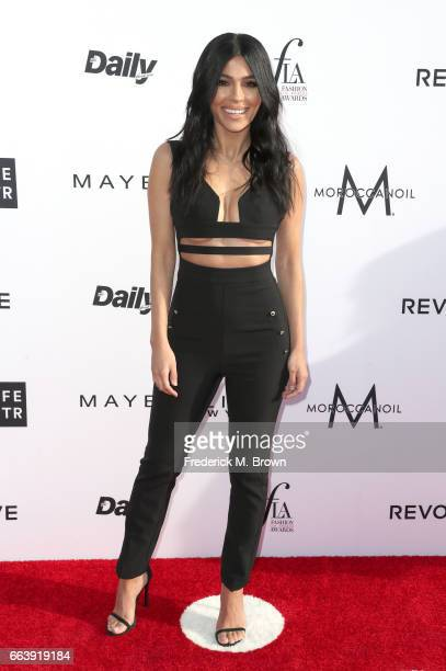 Teni Panosian attends the Daily Front Row's 3rd Annual Fashion Los Angeles Awards at Sunset Tower Hotel on April 2 2017 in West Hollywood California