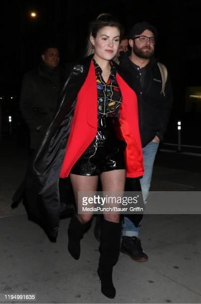 Tenille Arts is seen on January 20 2020 in New York City