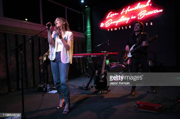 Tenille Arts performs at Tenille Arts Album Release Show at The Back Corner on January 09 2020 in Nashville Tennessee