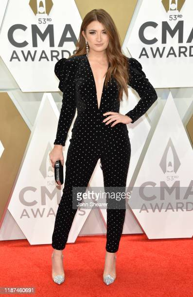 Tenille Townes attends the 53rd annual CMA Awards at the Music City Center on November 13, 2019 in Nashville, Tennessee.