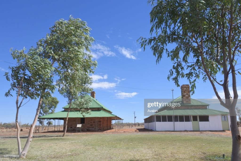 Tennant Creek Telegraph Station Historical Reserve Northern Territory Australia. : News Photo