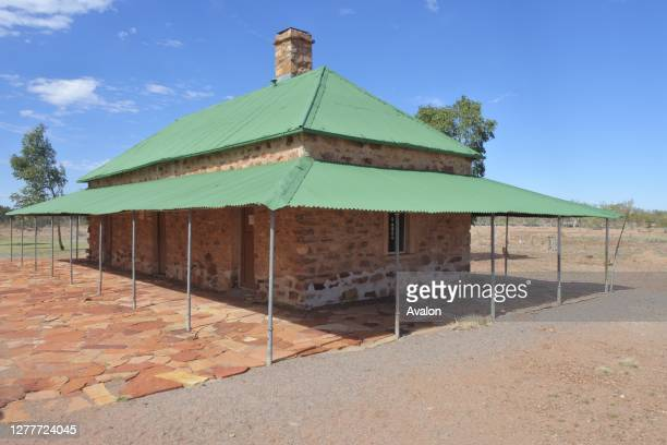 Tennant Creek Telegraph Station Historical Reserve Northern Territory Australia.