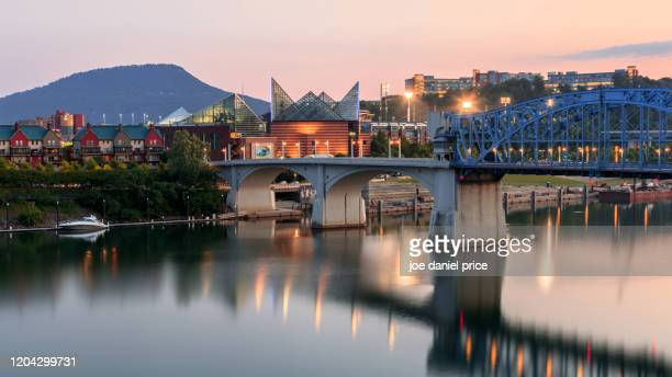 tennessee aquarium, lookout mountain, chattanooga, tennessee, america - chattanooga stock pictures, royalty-free photos & images