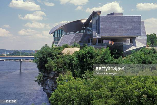 Tennessee Chattanooga Tennessee River And Hunter Museum Of Art