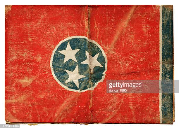 tennessee flag (xxl) - folded flag stock pictures, royalty-free photos & images