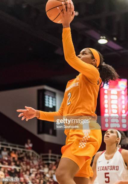 Tennessee Lady Volunteers guard Evina Westbrook gets an easy lay up during the game between the Tennessee Lady Volunteers verses the Stanford...