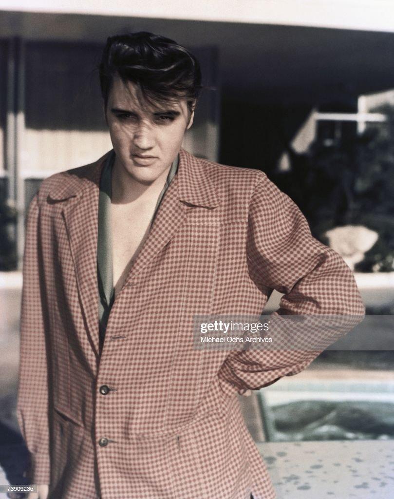 1956, Memphis, Elvis Presley : News Photo