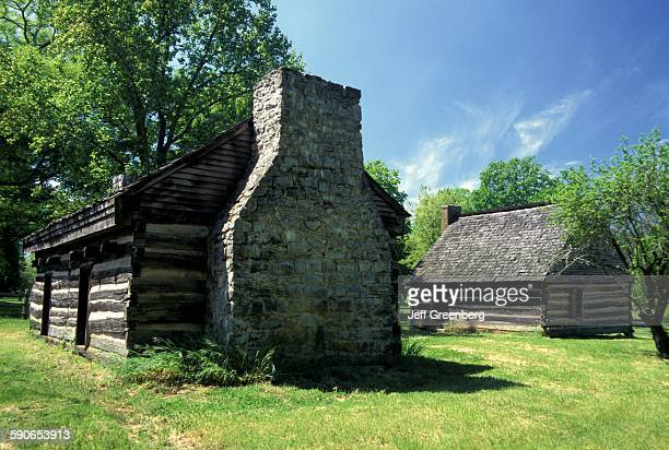Tennessee Nashville The Hermitage Andrew Jackson Homestead 1804 Cabins