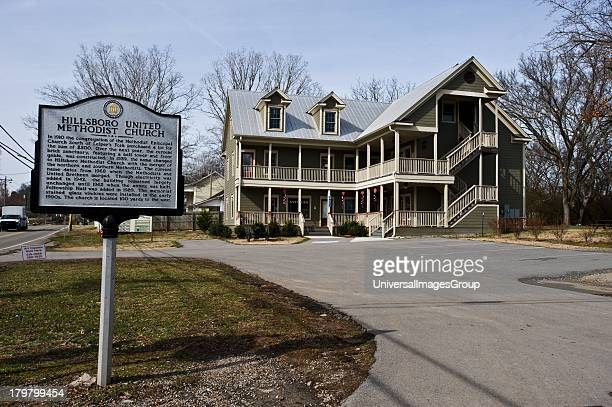 Tennessee Natchez Trace Parkway Leipers Fork Historic District Hillsboro United Methodist Church