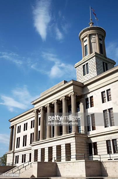 tennessee state capitol-nashville - kapitell stock-fotos und bilder