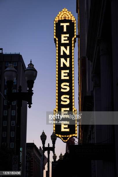 tennessee theater in knoxville - brycia james stock pictures, royalty-free photos & images