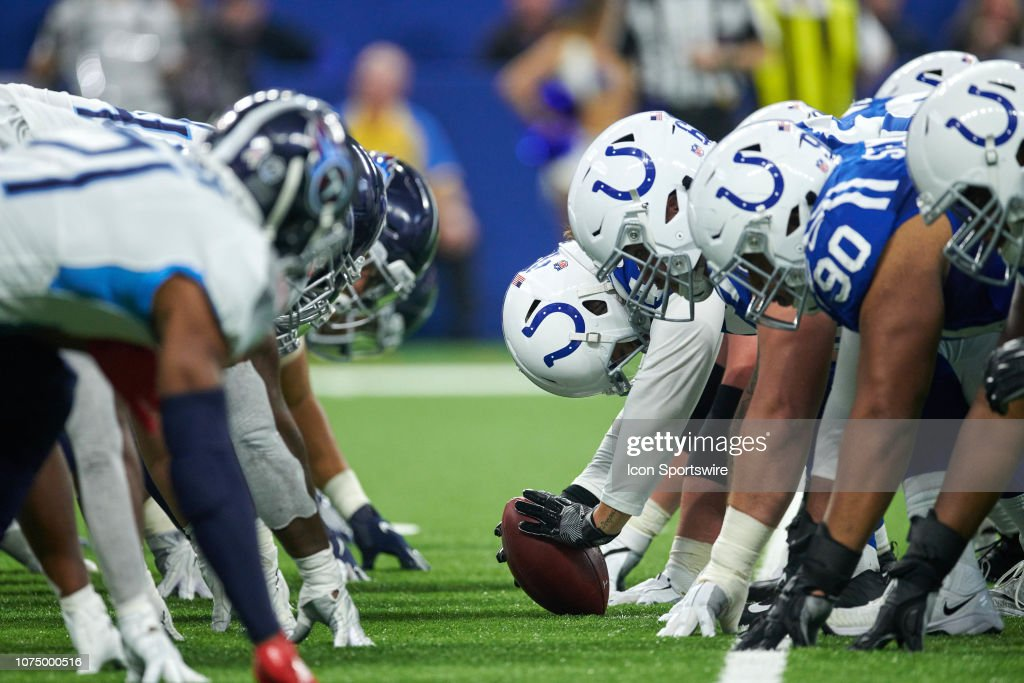 NFL: NOV 18 Titans at Colts : ニュース写真
