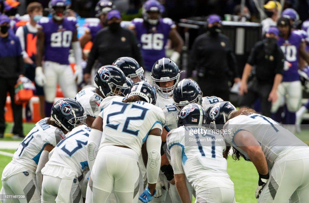 Tennessee Titans v Minnesota Vikings : ニュース写真