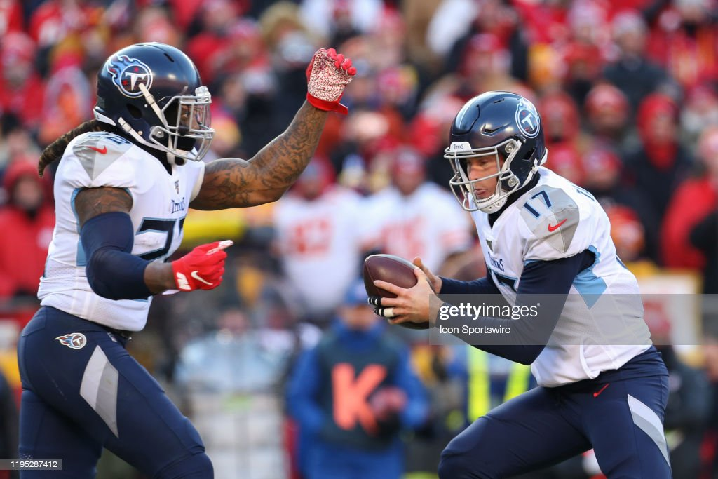 NFL: JAN 19 AFC Championship - Titans at Chiefs : News Photo
