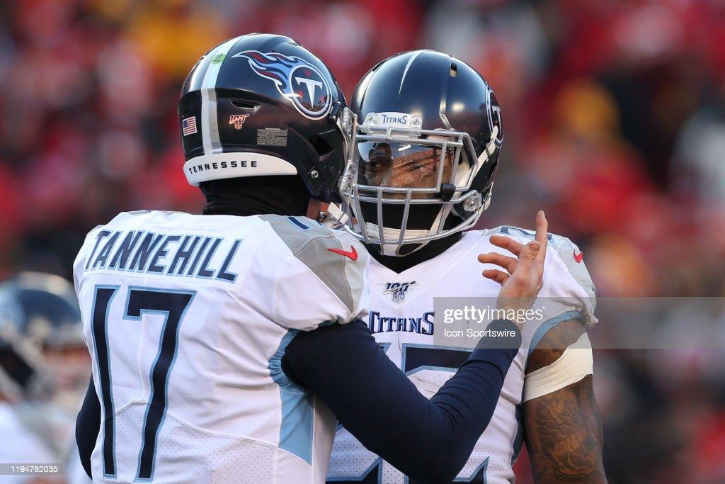 NFL: JAN 19 AFC Championship - Titans at Chiefs : News Photo