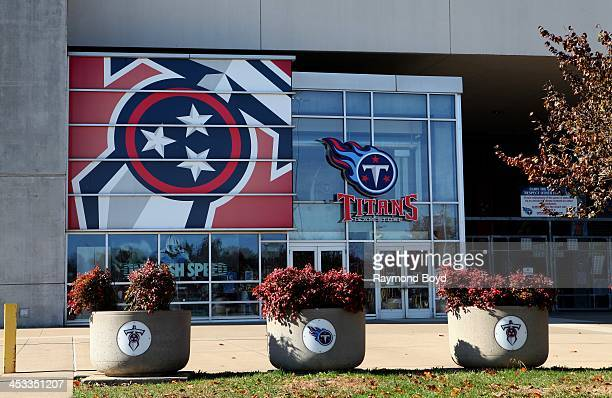 Tennessee Titans Team Store at LP Field, home of the Tennessee Titans footballl team in Nashville, Tennessee on NOVEMBER 24, 2013.