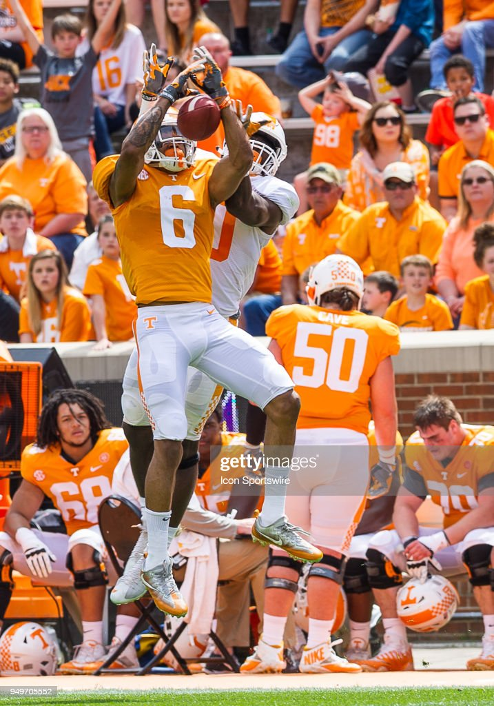COLLEGE FOOTBALL: APR 21 Tennessee Spring Game : News Photo
