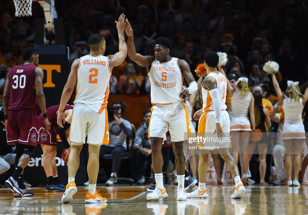 COLLEGE BASKETBALL: FEB 13 South Carolina at Tennessee : News Photo