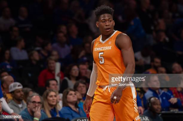 Tennessee Volunteers guard Admiral Schofield during the NIT Season TipOff college basketball championship game between the Tennessee Volunteers and...