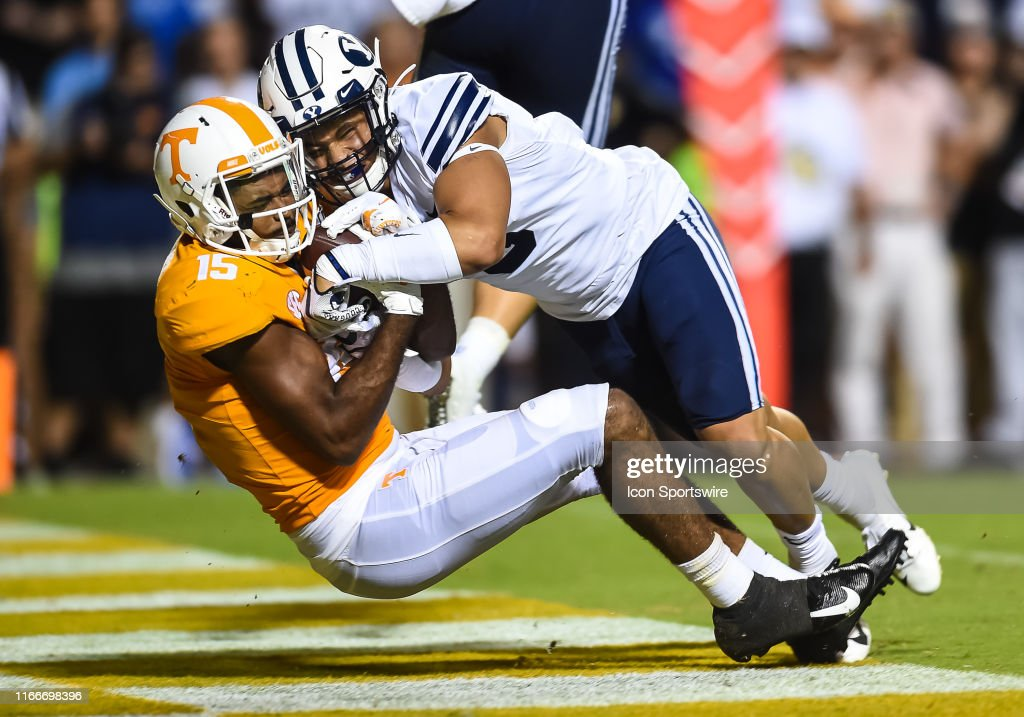 COLLEGE FOOTBALL: SEP 07 BYU at Tennessee : Photo d'actualité