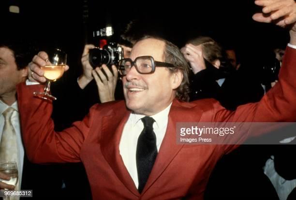 Tennessee Williams circa 1985 in New York City.