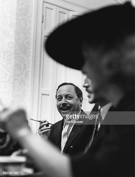 Tennessee Williams poses for a portrait in 1961 in New York City, New York.
