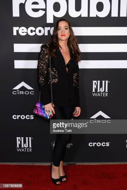 Tennille Amor attends Republic Records Grammy after party at Spring Place Beverly Hills on February 10, 2019 in Beverly Hills, California.
